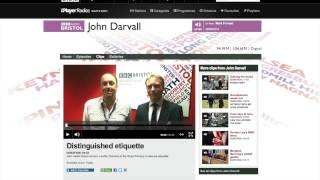 Grant Harrold on Butlers, Manners and Etiquette on BBC Radio Bristol Thumbnail