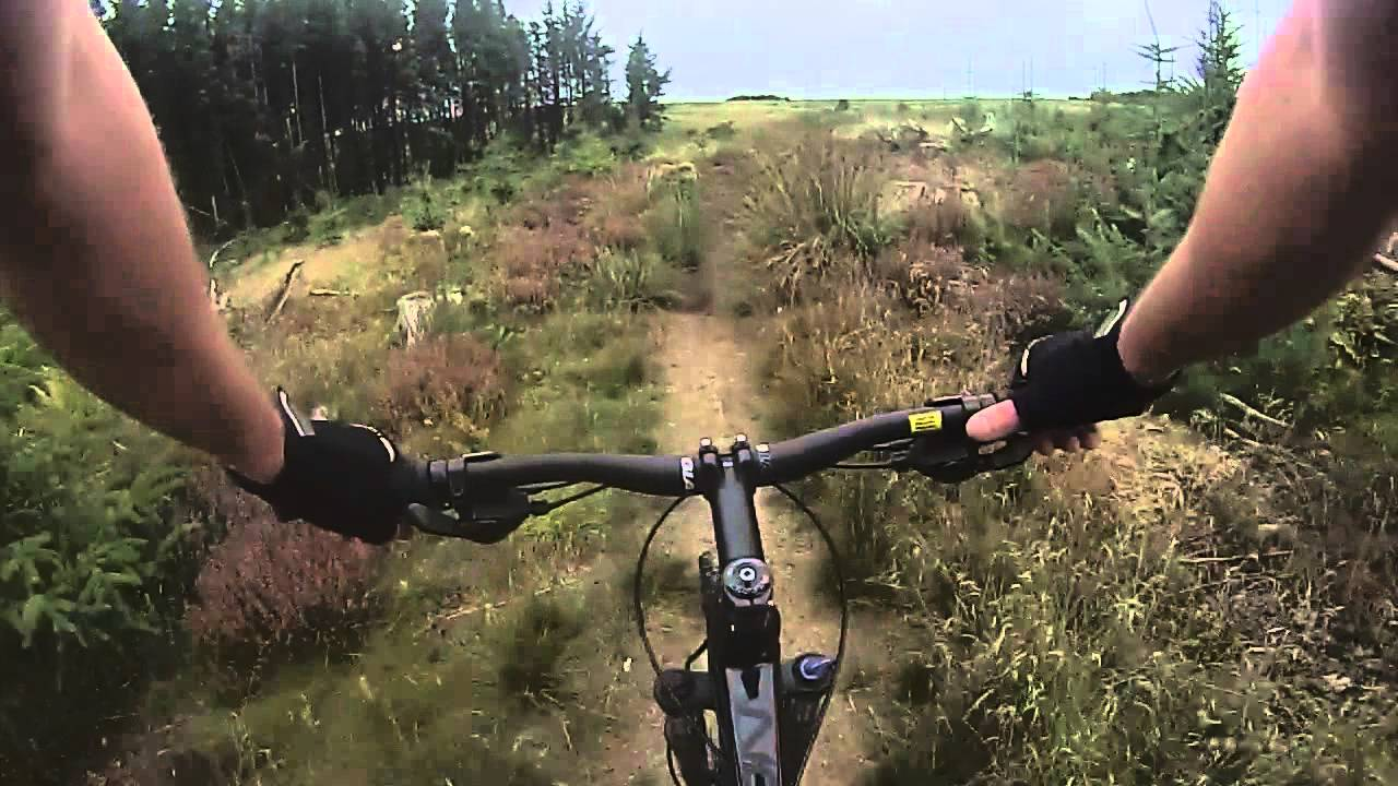 Cropton Forest Mtb Trail North Yorkshire Moors Youtube
