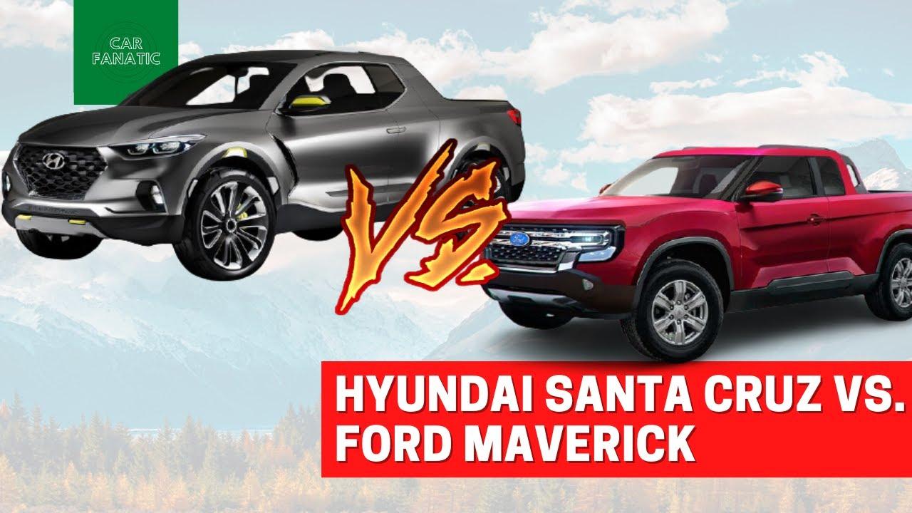 2022 Ford Maverick vs. Hyundai Santa Cruz and Honda Ridgeline ...