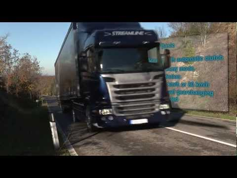 Scania Opticruise - performance modes