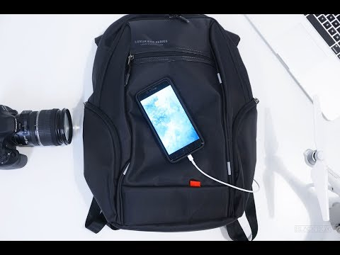 The Most Advanced Tech Backpack