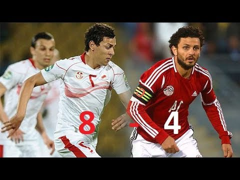 Tunisia Vs Egypt ( 8-4) ALL GOALS since 2000!