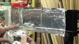 Silver Leafing Antique Restoration - Carrocel Restorations