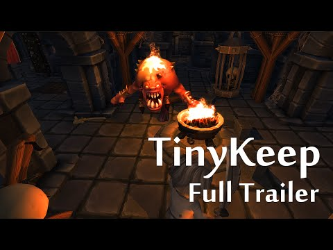 TinyKeep Launch Trailer