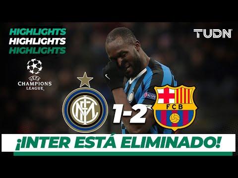 Highlights | Inter De Milán 1 – 2 Fc Barcelona | Champions League – J 6 – Grupo F | Tudn