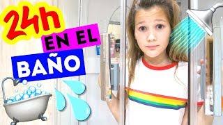 24 HORAS EN EL BAÑO! NO LO HAGAN! | Daniela Golubeva thumbnail