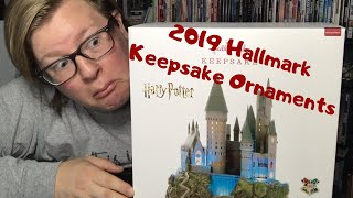 2019 Hallmark Ornaments   Harry Potter Christmas tree topper and ornaments   watch till the end