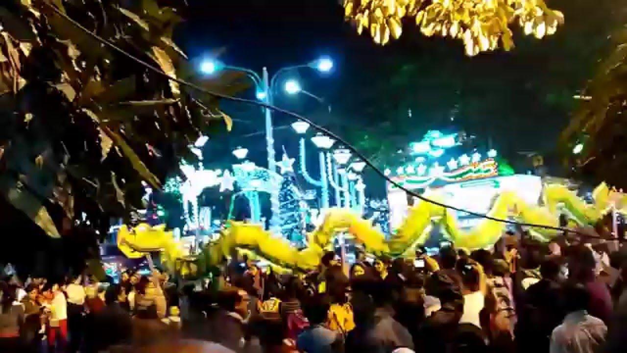 Park Street Kolkata During Christmas.Christmas Park Street Kolkata