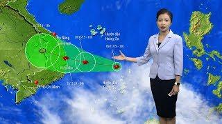 Dự báo thời tiết hôm nay và ngày mai 10/11 | Tin Bão Số 6 | Dự báo thời tiết đêm nay mới nhất