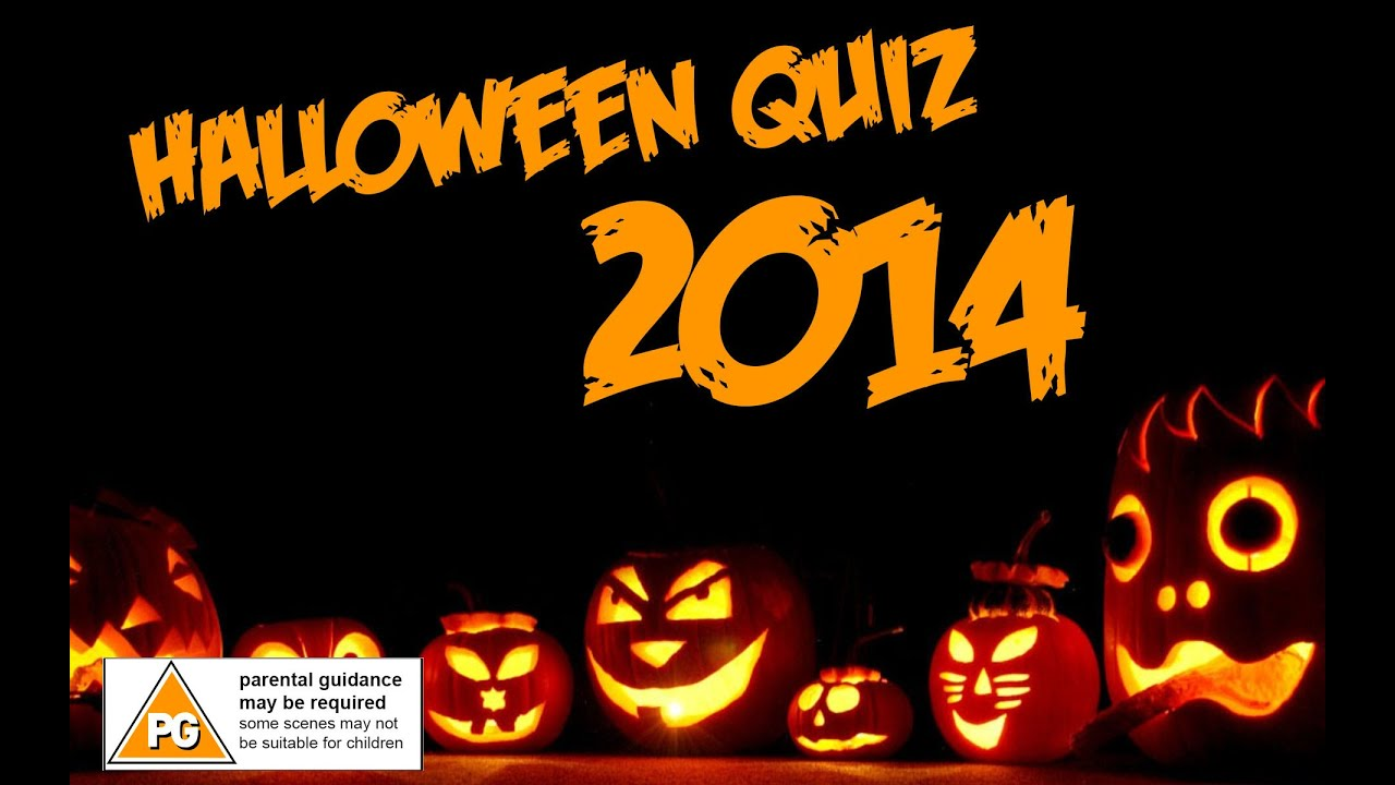 halloween quiz 2014 - youtube