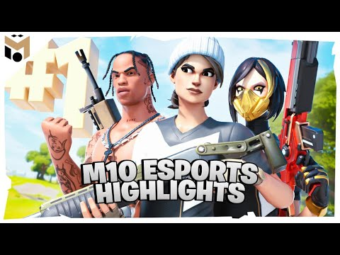 Mesut Özil DUO CASH CUP w/ M10 Berki 2/2🔥Footballers play Fortnite #3
