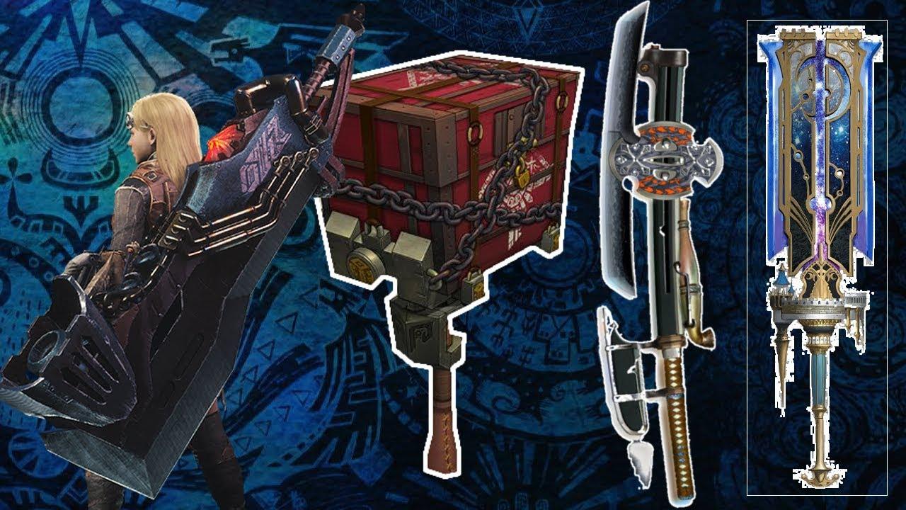 【MHW】新武器!噴射大劍的對手! 魔物獵人世界 MHW MONSTER HUNTER WORLD 攻略心得  PS4 /PC/XBOX - YouTube