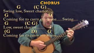 Gambar cover Swing Low, Sweet Chariot (Spiritual) Guitar Cover Lesson in G with Chords/Lyrics