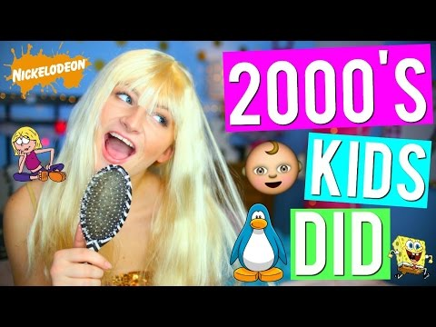 THINGS ALL 2000s KIDS DID! | Kalista Elaine