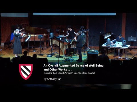 Anthony Tan | Full Concert || Radcliffe Institute