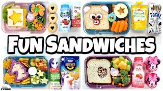 FUN and EASY SANDWICHES! School LUNCH IDEAS 🍎 Bunches of Lunches