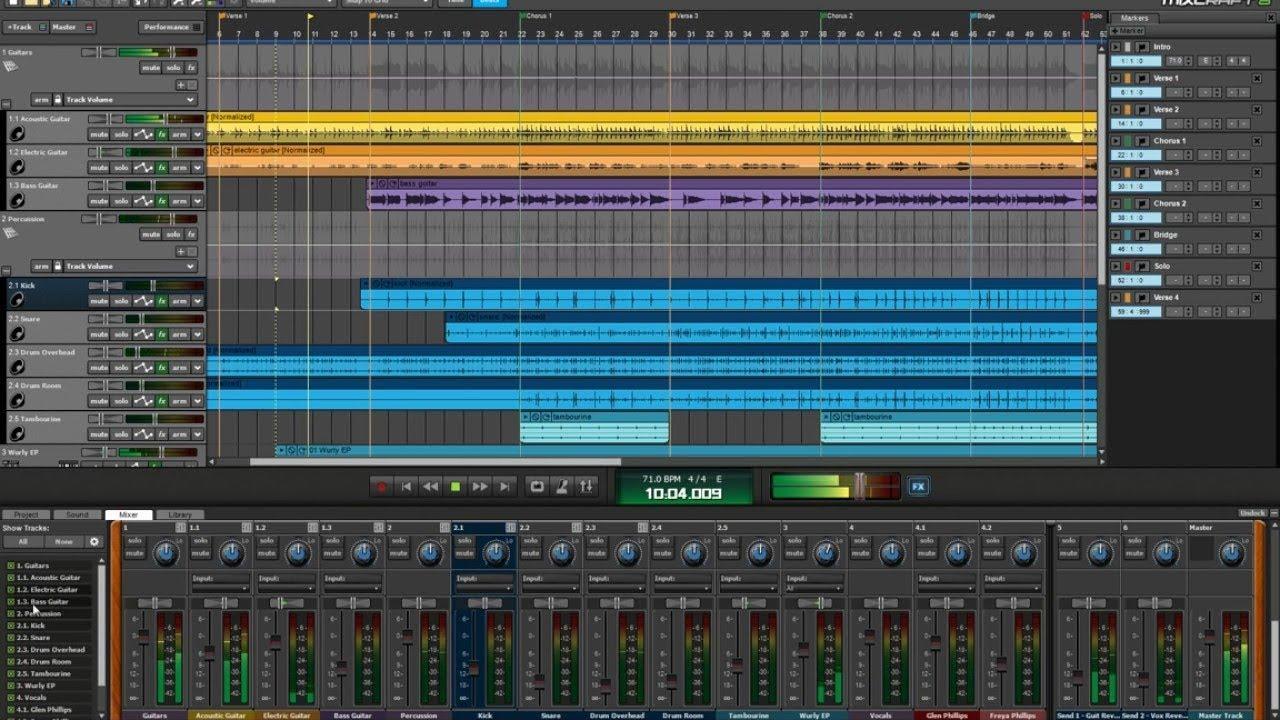 mixcraft 5 gratuit complet