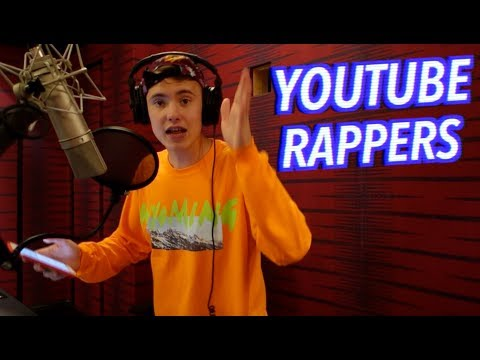 12 STYLES OF RAPPING R EDITION ft Ricegum Jake & Logan Paul KSI Zias and more