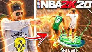 MY OFFENSIVE THREAT DESTROYED TRYHARDS AT THE COMP STAGE ON NBA 2K20! BEST JUMPSHOT & BUILD NBA 2K20