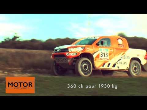 Hilux V8 Toyota France Dakar 2016 by motor-lifestyle