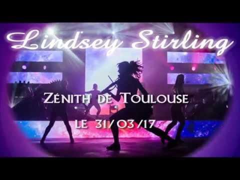 Lindsey Stirling  Live à Toulouse le 31/03/ 2017