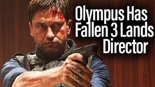 Angel Has Fallen (Olympus Has Fallen 3) Lands Director Ric Roman Waugh