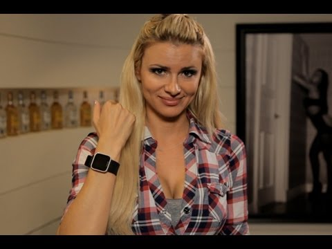Maximum Exposure: April Rose Fools Around with Her Sony SmartWatch