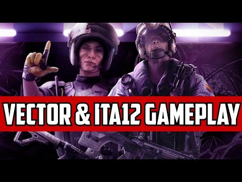 Rainbow Six Siege Mira & Jackal Gameplay Vector ITAL12S Velvet Shell Operators Panel Coastline
