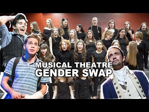 MUSICAL THEATRE GENDER SWAP ft. Newsies, Billy Elliot, Les Mis, Hamilton & more | Spirit YPC