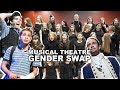 MUSICAL THEATRE GENDER SWAP ft. Newsies, Billy Elliot, Les Mis, Hamilton & more | Spirit YPC