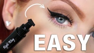 EASY Winged Eyeliner | All-in-One Stamp & Pen Review thumbnail