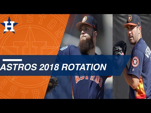 Take a look at the projected 2018 Astros rotation