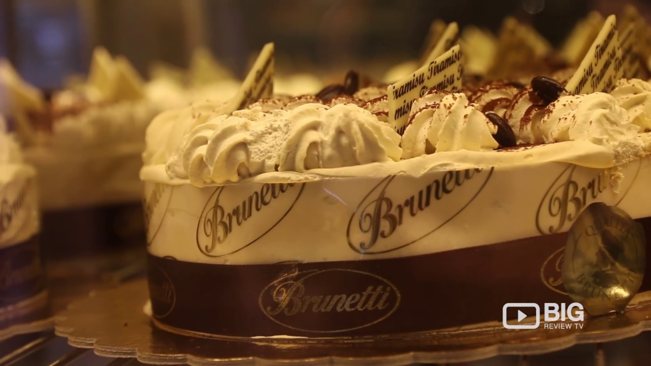 Brunetti A Cafe In Melbourne Offering Cake Coffee And Pastry Youtube