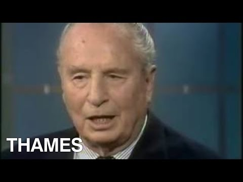 Sir Oswald Mosley- Interview - Thames Television -  1975