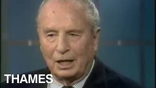 Sir Oswald Mosley | Interview | Thames Television | 1975