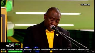 Ramaphosa urges ANC KZN to accept the elective conference results
