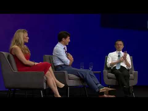 Pt 3 Gateway '17 Toronto - Jack Ma & Justin Trudeau