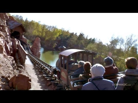 Big Thunder Mountain - Disneyland Paris Complete Ridethrough On-ride POV HD