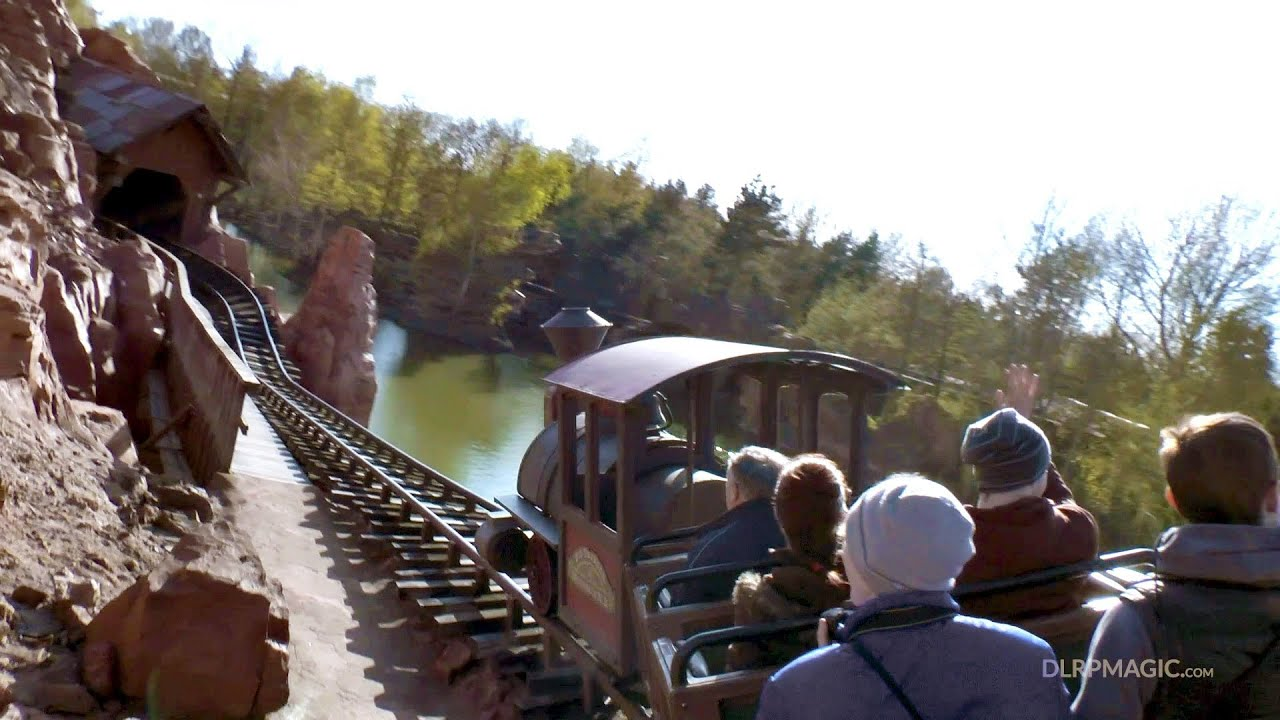 Big Thunder Mountain - Disneyland Paris Complete Ridethrough On-ride POV HD