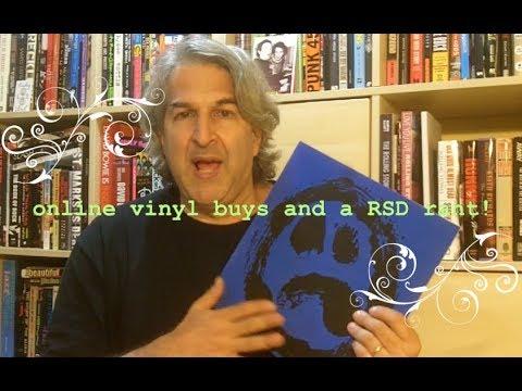#142 Vinyl Finds Online Buys / My mini RSD rant