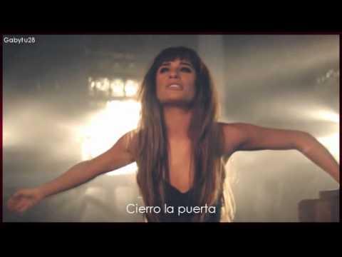Lea Michele - Cannonball subtitulada al español (official video)