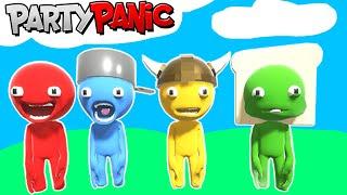 faccio i mini giochi con gli omini molleggiati - Party Panic #1