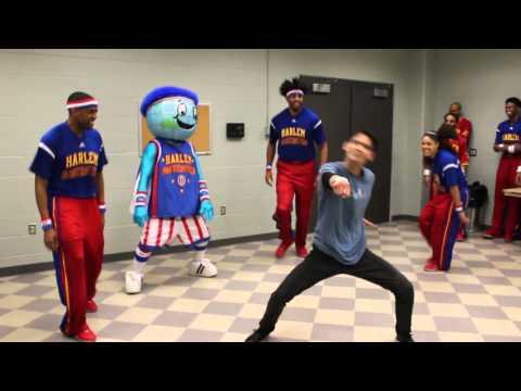Harlem Globetrotters vs. Sam Picart DANCE-OFF