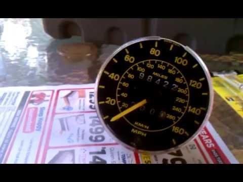 1983 Porsche 944 odometer fix