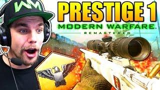 PASSAGE AU PRESTIGE 1 !! (Call of Duty: Modern Warfare Remastered)