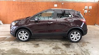 2018 BUICK ENCORE ESSENCE AWD - BLACK CHERRY