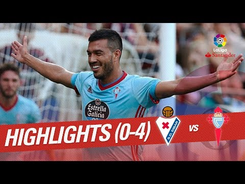 Resumen de SD Eibar vs RC Celta (0-4)
