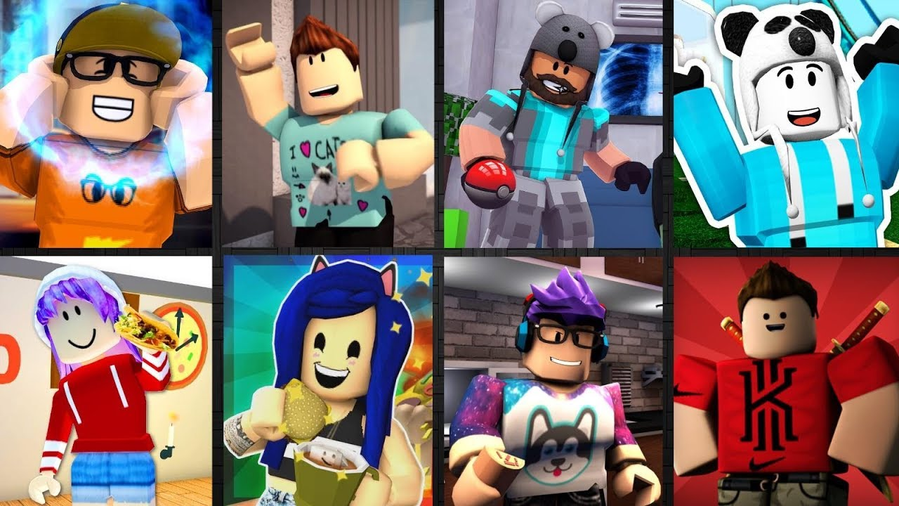 Guess The Roblox Youtuber By Their Roblox Character - roblox youtubers videos