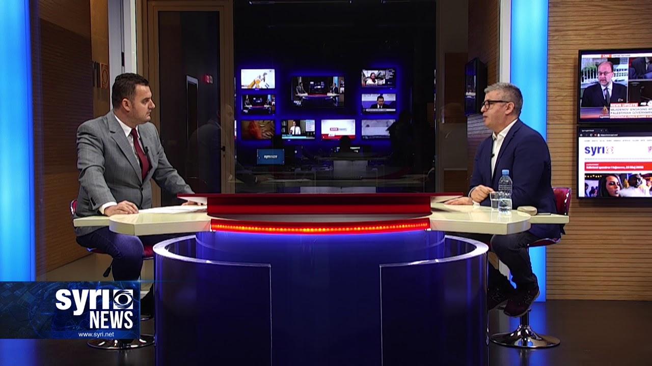 Intervista ne Syri Net i ftuar ne studio Alfred Peza