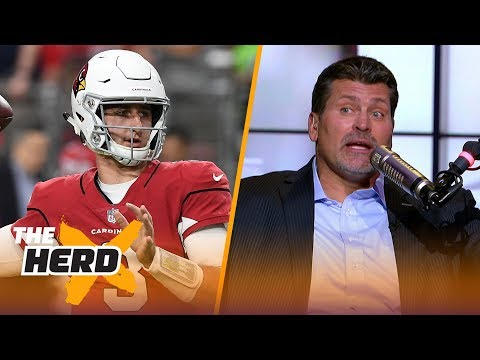 Mark Schlereth on Rosen's debut for Arizona, Earl Thomas flipping the bird | NFL | THE HERD